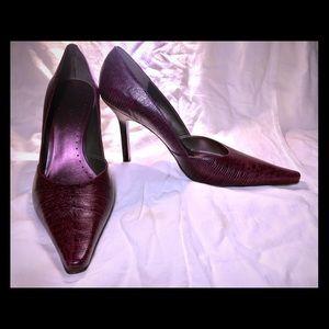 Purple mult lizard styled heels from BCBG Girls